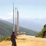 Novice Monk in Thimphu