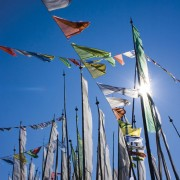 Bhutan Prayer Flags