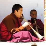 Bhutan Novice Monks