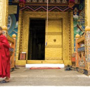 Hall Entrance Punakha Dzong