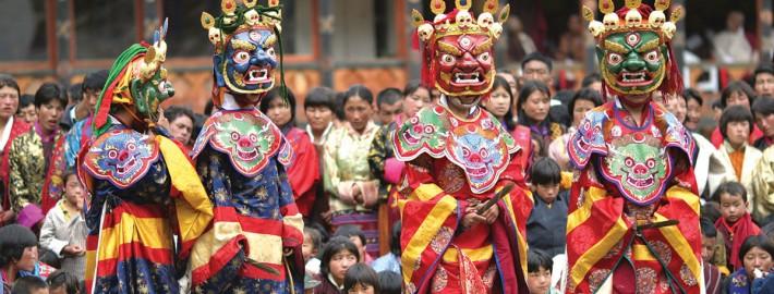 Bhutan Tsechu