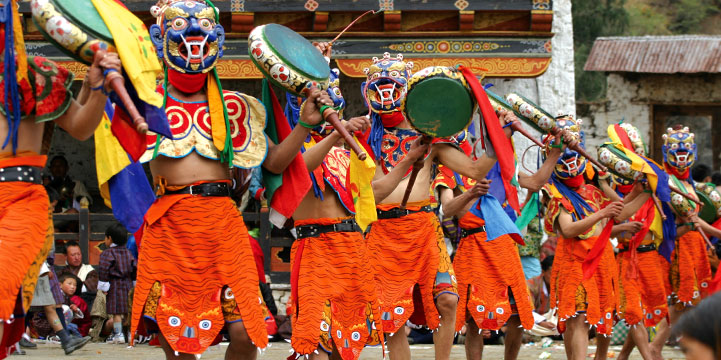 Image result for bumthang ura festival in Bhutan
